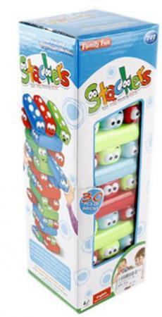 Настольная игра спортивная Shantou Gepai Веселая башня 631220 игры для малышей shantou gepai настольная игра балансирующая пицца