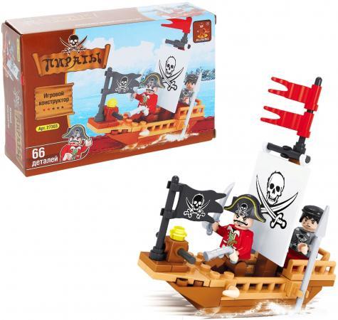 Конструктор BRICK Пираты 66 элементов 27303 конструктор пластиковый toto 021 подъемник 84 детали