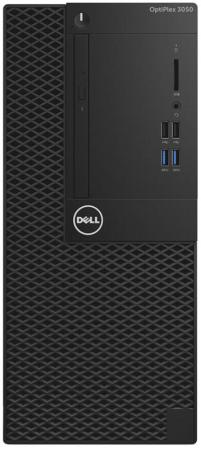 Системный блок DELL Optiplex 3050 MT i3-6100 3.7GHz 4Gb 500Gb HD530 DVD-RW Win7Pro Win10Pro черный 3050-0344 dell optiplex 3050 mt core i5 6500 4gb 500gb dvd kb m win10pro win7pro