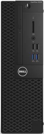 Системный блок DELL Optiplex 3050 SFF G4560 3.5GHz 4Gb 500Gb HD610 DVD-RW Linux черный 3050-0382 dell optiplex 3050 mt core i5 6500 4gb 500gb dvd kb m win10pro win7pro