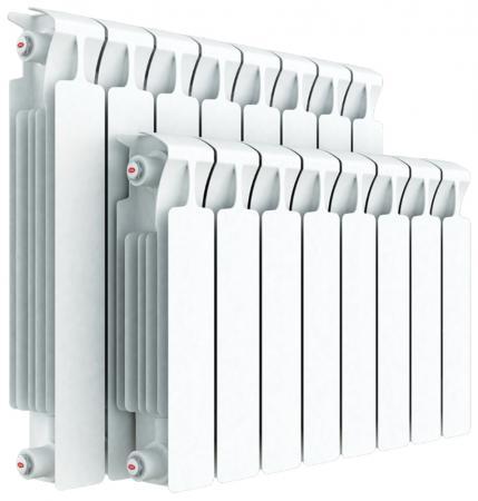 Биметаллический радиатор Rifar Monolit Ventil 350 10 секций 1340Вт подключение левое биметаллический радиатор rifar рифар b 500 нп 10 сек лев кол во секций 10 мощность вт 2040 подключение левое