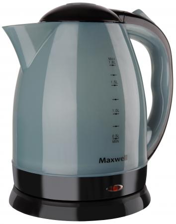 лучшая цена Чайник Maxwell MW-1063 B 1850 Вт чёрный 1.8 л пластик