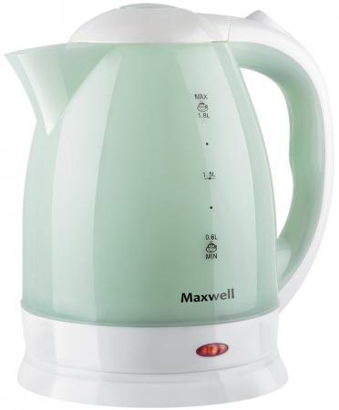 Чайник Maxwell MW-1064 W 1850 Вт белый 1.8 л пластик