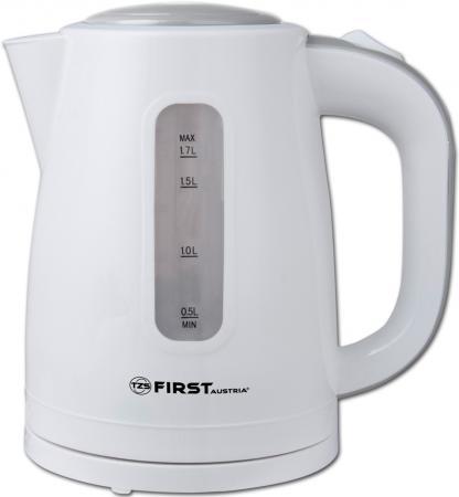 Чайник First FA-5426-4 2200 Вт белый серый 1.7 л пластик
