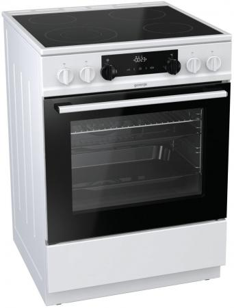 Электрическая плита Gorenje EC6341WC белый электрическая плита gorenje ec6341wc стеклокерамика белый