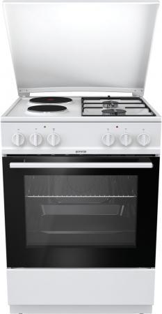 Комбинированная плита Gorenje K6121WG белый комбинированная плита smeg tr 4110 ro