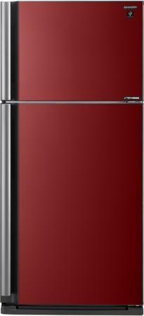 Холодильник Sharp SJXP59PGRD красный sharp r 8772nsl