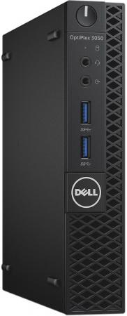Неттоп DELL OptiPlex 3050 MFF Intel Core i3-7100T 4Gb SSD 256 Intel HD Graphics 630 Windows 10 Professional черный 3050-2087 hugo boss boss in motion black edition