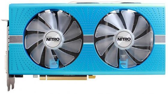 Видеокарта 8192Mb Sapphire RX 580 NITRO+ SE DUAL PCI-E DVI HDMI DP 11265-21-20G Retail видеокарта asus geforce gtx 1060 1620mhz pci e 3 0 6144mb 8208mhz 192 bit dvi hdmi hdcp rog strix gtx1060 o6g gaming