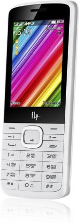 Мобильный телефон Fly TS113 белый 2.8 32 Мб 3 симкарты