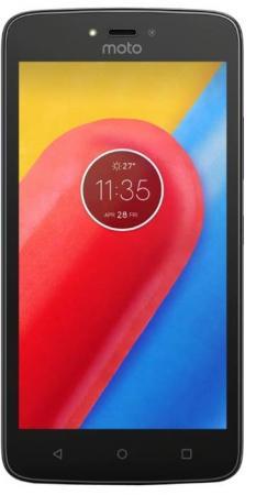 Смартфон Motorola Moto C Plus черный 5 16 Гб LTE Wi-Fi GPS 3G XT1723 смартфон motorola moto c xt1754 16gb черный pa6l0083ru