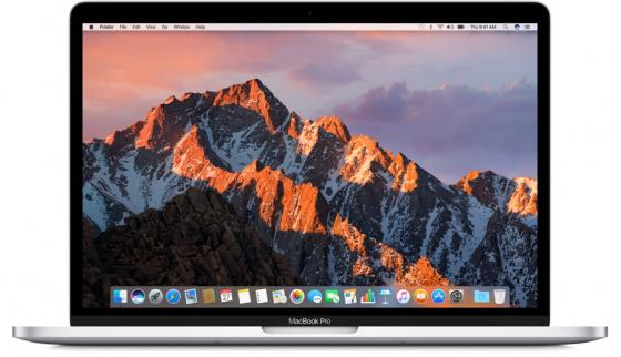 Ноутбук Apple MacBook Pro 13.3 2560x1600 Intel Core i5 256 Gb 8Gb Intel Iris Plus Graphics 640 серебристый macOS MPXU2RU/A ноутбук apple macbook 12 2304x1440 intel core i5 7y54 mnyn2ru a