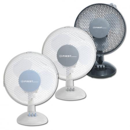 Вентилятор настольный First FA-5550-BU 25 Вт уотсон wahson ft35 a510 вентилятор настольный вентилятор вентилятор