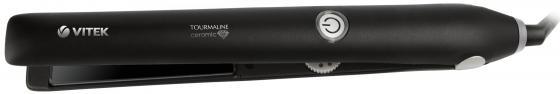 Выпрямитель для волос Vitek VT-8404(BK) 35Вт чёрный выпрямитель волос vitek vt 8402 bk 35вт чёрный