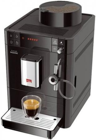 Кофемашина Melitta Caffeo F 531-102 Passione Onetouch 1450 Вт черный кофемашина melitta caffeo passione f 530 101 серебристая черная