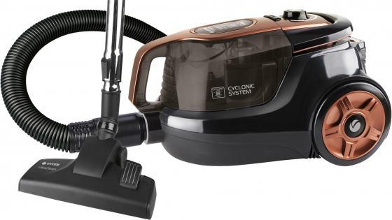 Пылесос Vitek VT-8117 BK сухая уборка чёрный пылесос vitek vt 8115 og сухая уборка оранжевый чёрный