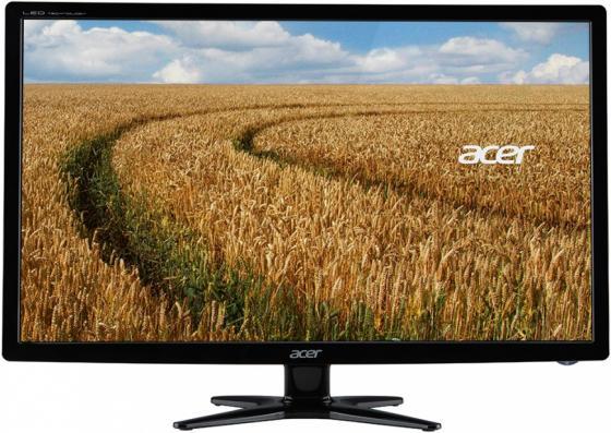 Монитор 24 Acer G246HYLBD черный IPS 1920x1080 250 cd/m^2 6 ms DVI VGA UM.QG6EE.001 монитор 23 8 acer v246hylbd черный ips 1920x1080 250 cd m^2 6 ms dvi vga um qv6ee 001