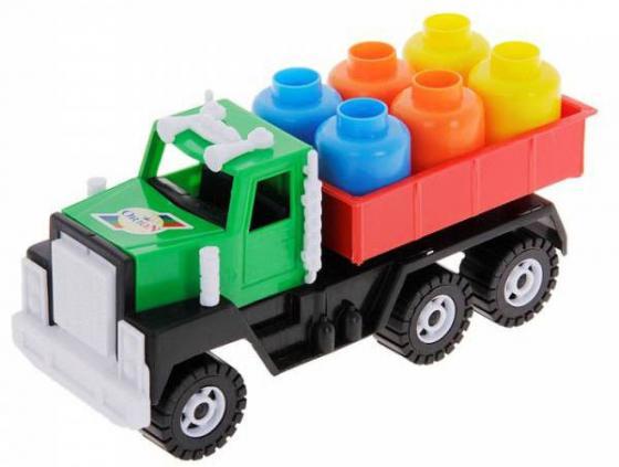 Грузовик Orion Камакс с грузом разноцветный в ассортименте 153 машина orion toys камакс автокран 238