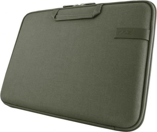 Сумка для ноутбука MacBook Pro 15 Cozistyle Smart Sleeve Canvas зеленый кейс для macbook moshi iglaze pro 15 r 99mo071903