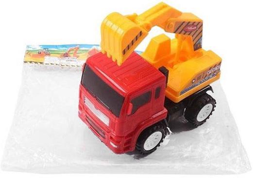 Экскаватор Shantou Gepai Экскаватор с ковшом 15 см красный умный шмель магнитный конструктор грузовик и экскаватор