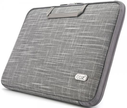 Сумка для ноутбука MacBook Pro 15 Cozistyle Linen Smart Sleeve CSLNC1502 серый кейс для macbook moshi iglaze pro 15 r 99mo071903