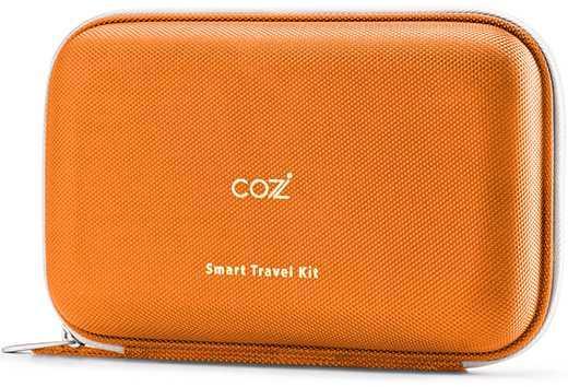 Чехол Универсальная Cozistyle Smart Travel Kit оранжевый сумка универсальная cozistyle smart travel kit компрессионный литой eva красный cstk011