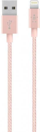 Кабель Lightning 1.2м Belkin Mixit круглый розовое золото F8J144bt04-C00 кабель nym j 3х6 0 5м гост