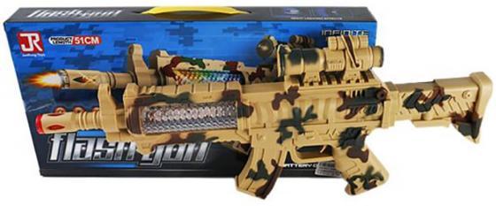 """Автомат Shantou Gepai """"Автомат"""" камуфляж свет, звук, коробка  автомат пулемет 1toy т58356 камуфляж"""