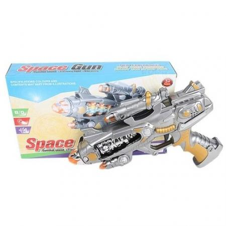 Бластер Shantou Gepai 6927715575224 оружие игрушечное hasbro hasbro бластер nerf n strike mega rotofury