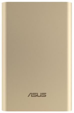 Портативное зарядное устройство Asus ZenPower ABTU011 10050мАч золотистый 90AC0180-BBT018 внешний аккумулятор asus zenpower abtu011 10050мaч голубой [90ac0180 bbt032]