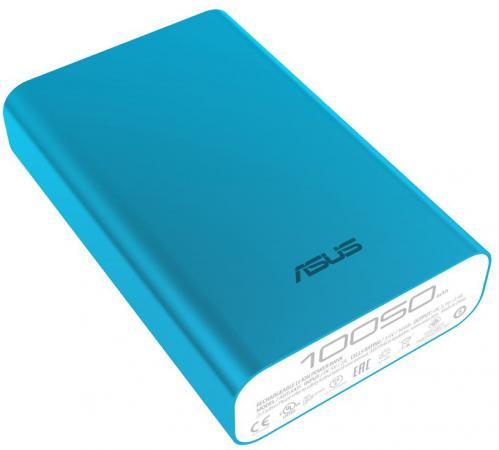 Портативное зарядное устройство Asus ZenPower ABTU011 10050мАч голубой 90AC0180-BBT032 внешний аккумулятор asus zenpower abtu011 10050мaч голубой [90ac0180 bbt032]