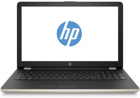 Ноутбук HP 15-bs039ur 15.6 1366x768 Intel Pentium-N3710 500 Gb 4Gb Intel HD Graphics 405 золотистый Windows 10 Home 1VH39EA ноутбук dell vostro 3558 15 6 1366x768 intel pentium 3825u 500 gb 4gb intel hd graphics черный linux 3558 4483