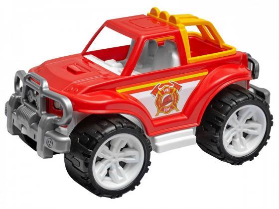 Машина ТехноК «Внедорожник» Пожарная T3541 красный tomy тракто farm с большими колесами