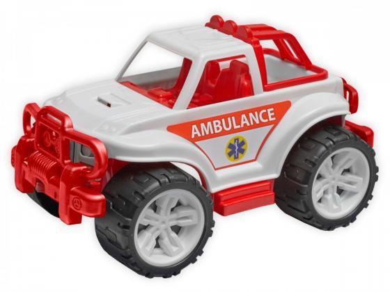 Машина ТехноК «Внедорожник» Скорая помощь 3534 бело-красный технопарк машина скорая помощь