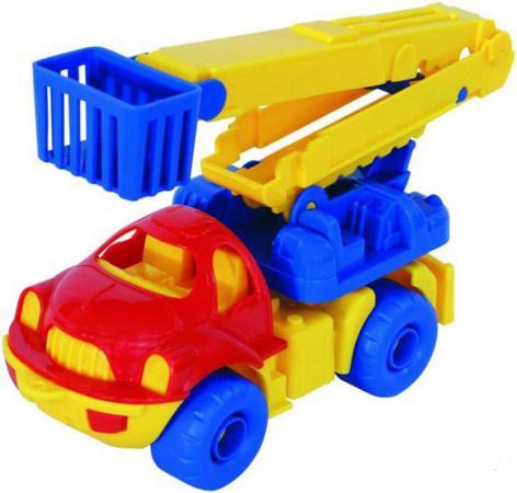 Грузовик Нордпласт Малыш разноцветный грузовик нордпласт кроха 016 19 см разноцветный в ассортименте