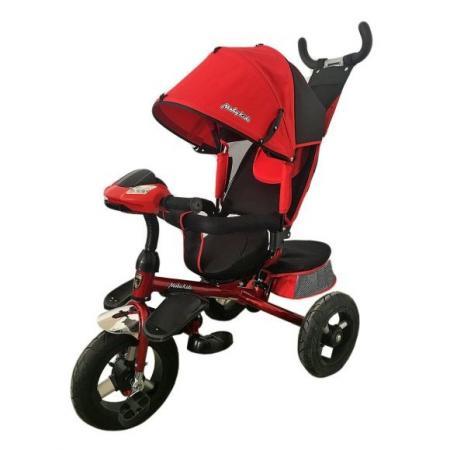 Велосипед трехколёсный Moby Kids Comfort-Ultra 12*/10* красный велосипед moby kids comfort ultra 12 10 синий