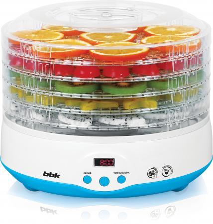 лучшая цена Сушилка для овощей и фруктов BBK BDH204D голубой белый