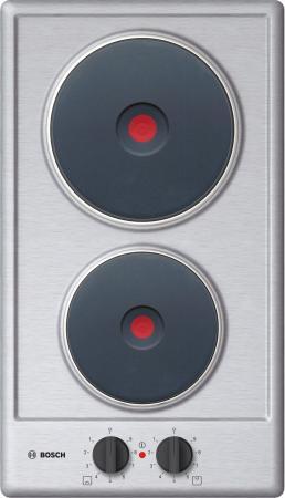 Варочная панель электрическая Bosch PEE389CF1 серебристый