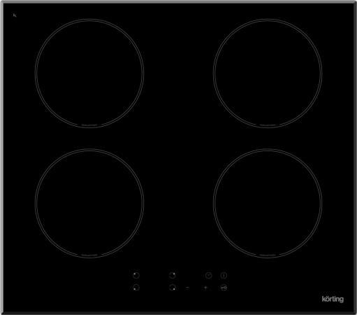 Варочная панель электрическая Korting HI 6404 B черный варочная панель korting hi 6404 b