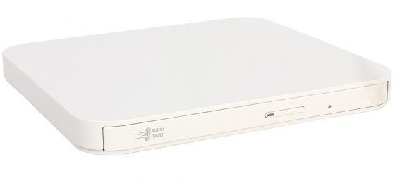 Внешний привод DVD±RW LG GP95NW70 USB 2.0 белый Retail оптический привод dvd rw lg gp60nb60 внешний usb черный ret