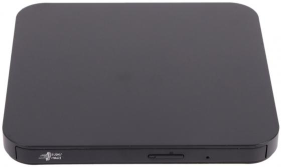 Внешний привод DVD±RW LG GP95NB70 USB 2.0 черный Retail оптический привод dvd rw lg gp60nb60 внешний usb черный ret