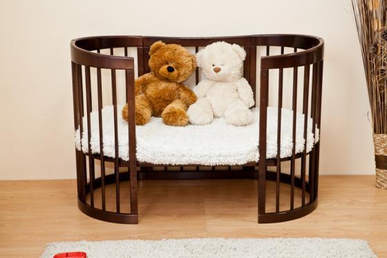 Кроватка-диван Красная Звезда Паулина-2 С422 (шоколад) кроватка диван красная звезда паулина 2 с422 ваниль