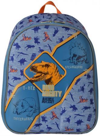 Рюкзак с анатомической спинкой Action! Animal Planet Дино 15 л голубой AP-ASB4614/2/17