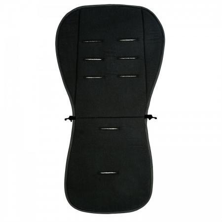 Матрасик-вкладыш 83x42см Altabebe Lifeline Polyester+3D Mesh AL3005L (black) матрасик в коляску altabebe mt4021 l стандарт