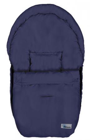 Демисезонный конверт 75x37см Altabebe Microfibre AL2610 (navy blue) конверт детский altabebe altabebe конверт в коляску зимний lambskin car seat bag синий