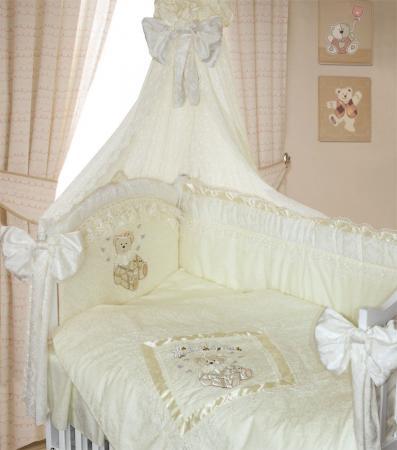 Постельный сет 7 предметов Золотой Гусь Рафаэлло (молочный) постельный сет 7 предметов золотой гусь мишутка розовый