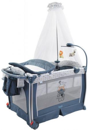 Кровать-манеж Nuovita Fortezza (grigio scuro) babies детский манеж кровать p 1b