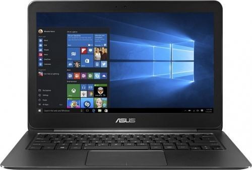 Ноутбук ASUS ZenBook UX305CA-DQ124T 13.3 3200x1800 Intel Core M5-6Y54 256 Gb 8Gb Intel HD Graphics 515 черный Windows 10 Home 90NB0AA3-M06280 ноутбук asus k501ux dm201t bts 15 6 intel core i5 6200u 2 3ghz 8gb 1tb hdd 90nb0a62 m03360