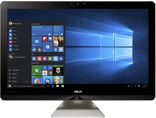 Моноблок 23.8 ASUS Zen AiO ZN241ICGK-RA005T 1920 x 1080 Intel Core i5-7200U 12Gb 1Tb + 128 SSD nVidia GeForce GT 940МХ 2048 Мб Windows 10 Home серый 90PT01V1-M00200 spring new fashion pink faux fur women sexy sandals straps cut out unique beading heel ladies dress shoes female party shoes