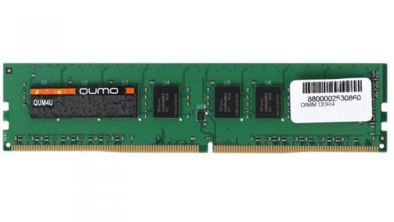 Оперативная память 4Gb PC4-19200 2400MHz DDR4 DIMM QUMO QUM4U-4G2400KK16 qumo duo 4gb white